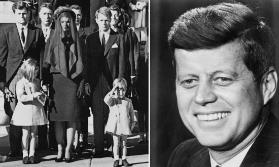 A Moment Worth Remembering: When Toddler JFK Jr. Saluted His Father's Casket