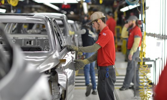 US Private Sector Firm Growth Rises to 10-month High