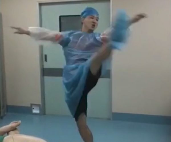 Delivery room dance