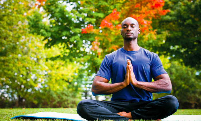 Meditation is an important aspect of mindfulness and gaining the ability to still the mind to better tune into the present moment. (Zdenka Darula/Shutterstock)