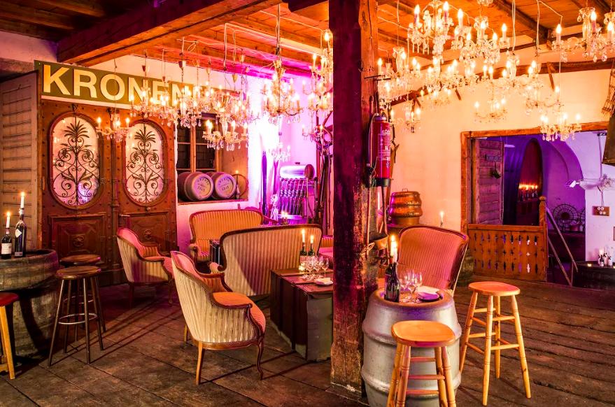 wine cellars grand hotel kronenhof pontresina