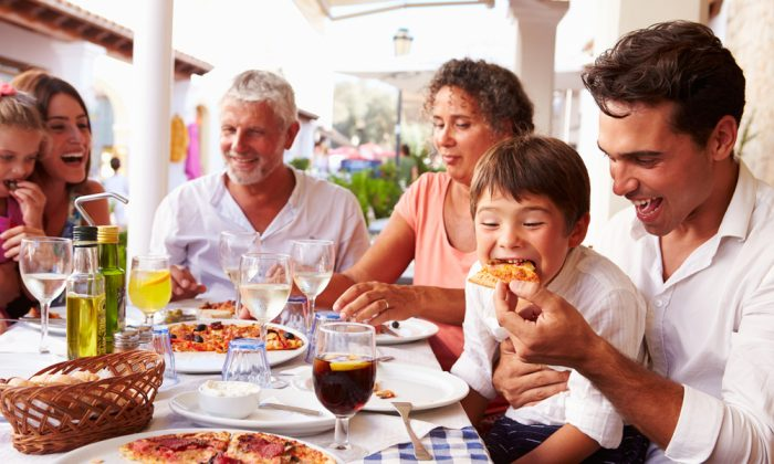 The dinner table is a place of community. (Shutterstock)