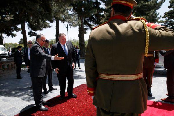 Pompeo n Afghanistan