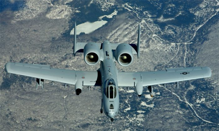 An A-10 Thunderbolt II. (U.S. Air Force photo/Staff Sgt. Melanie Norman)