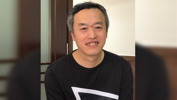 Liu Pengfei, who ran the Global Report news service on the popular social media app WeChat, in this file photo. (Civil Rights and Livelihood Watch)
