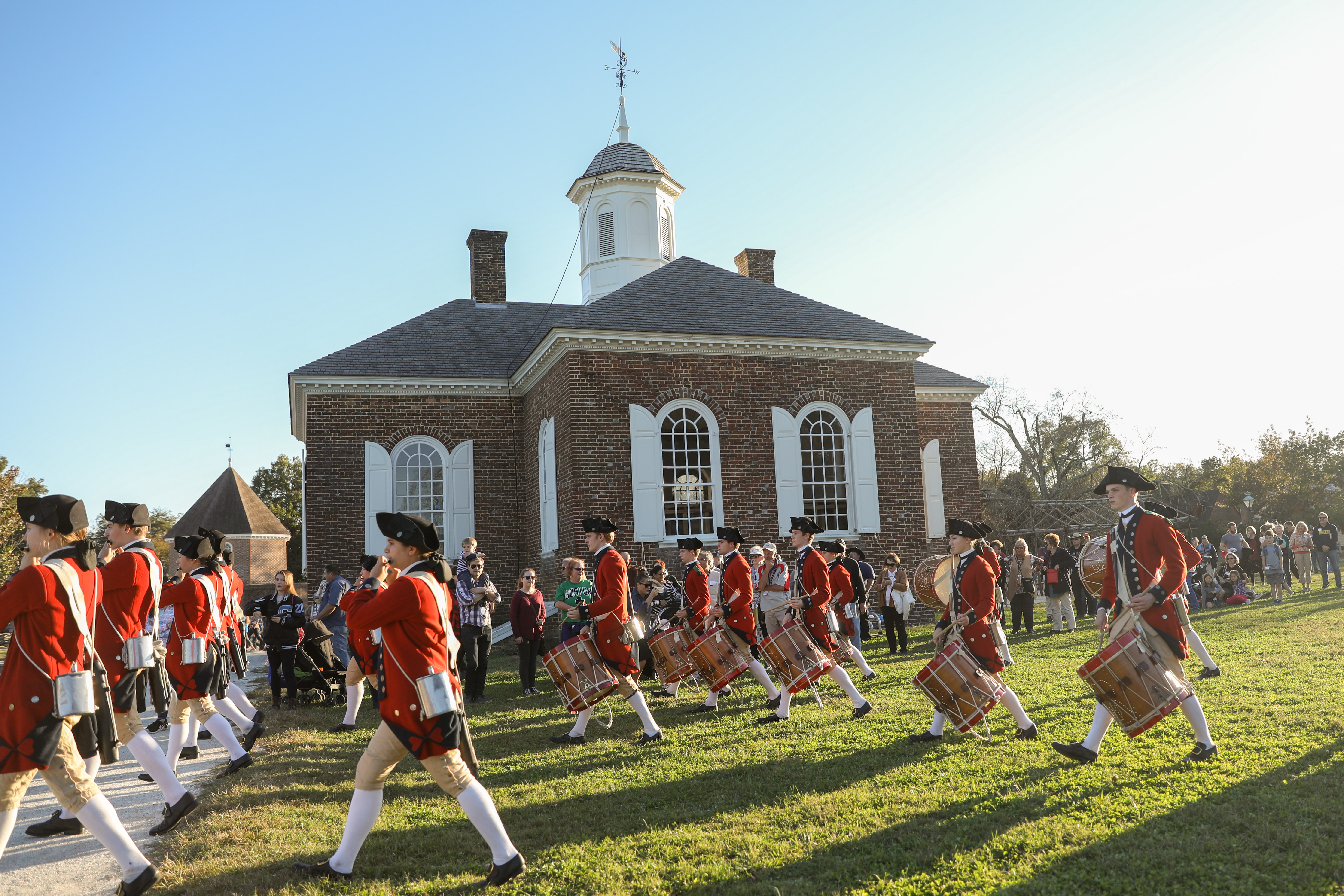 colonial williamsburg fifers drummers corps