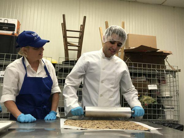 Kessaris rolling granola