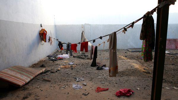 Libya airstrike migrant center 5