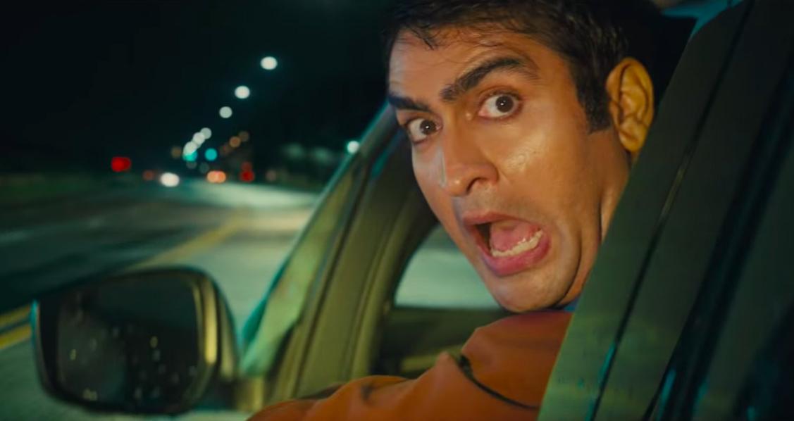 man screaming in Uber car