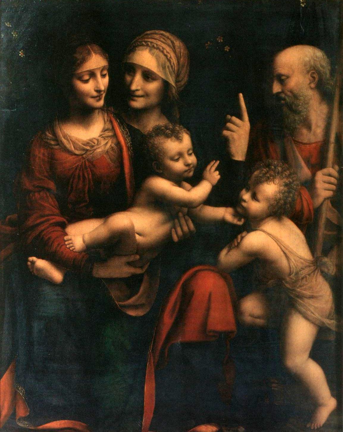 B_Luini_Sacra_Famiglia_con_S_Giovannino_S_Anna_Milano_Ambrosiana