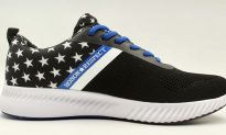 Air Force Veteran Encourages All to Wear 'Honor and Respect' Sneakers and Relieve PTSD for Police
