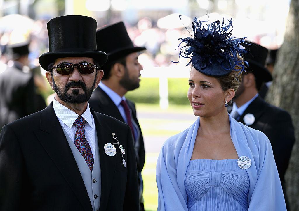 Sheikh Mohammed bin Rashid Al Maktoum and Princess Hay
