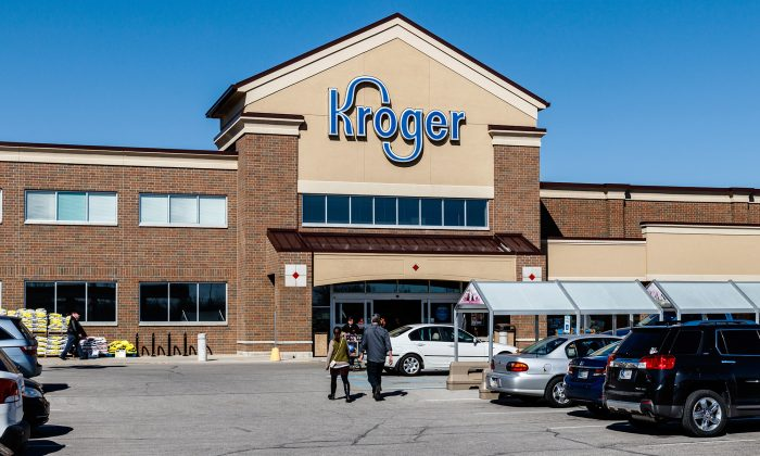 A Kroger grocery store in a file photo. (Illustration - Shutterstock)