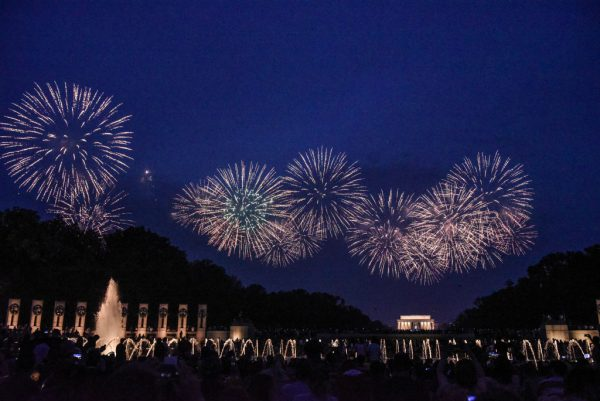 Thousands Gather At National Mall For 4th Of July Festivities And President Trump's Speech