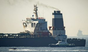 Iranian Oil Supertanker Bound for Syria Detained by Gibraltar, as Requested by United States