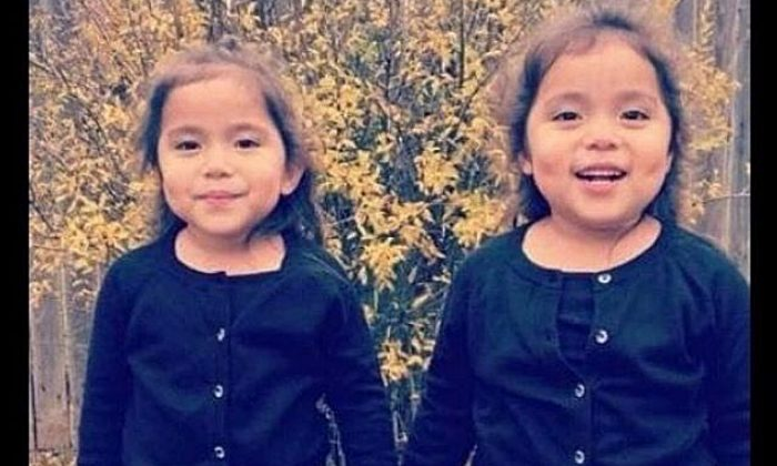 A picture of the twins killed in car crash in Odessa. (Brandy Douthit/GoFundMe)