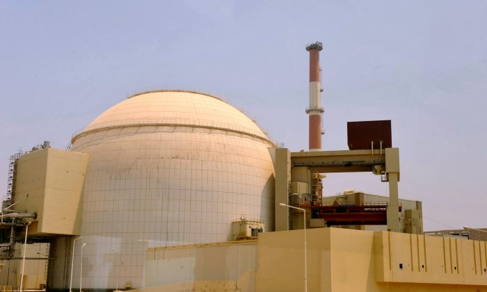 Bushehr nuclear power plant in southern Iran on Aug. 21, 2010. (IIPA via Getty Images)