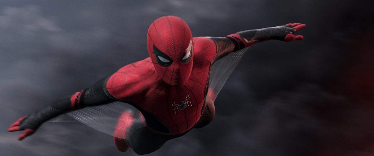 Spiderman glides