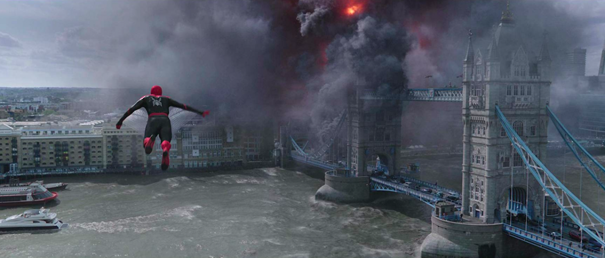 Spiderman and London Bridge