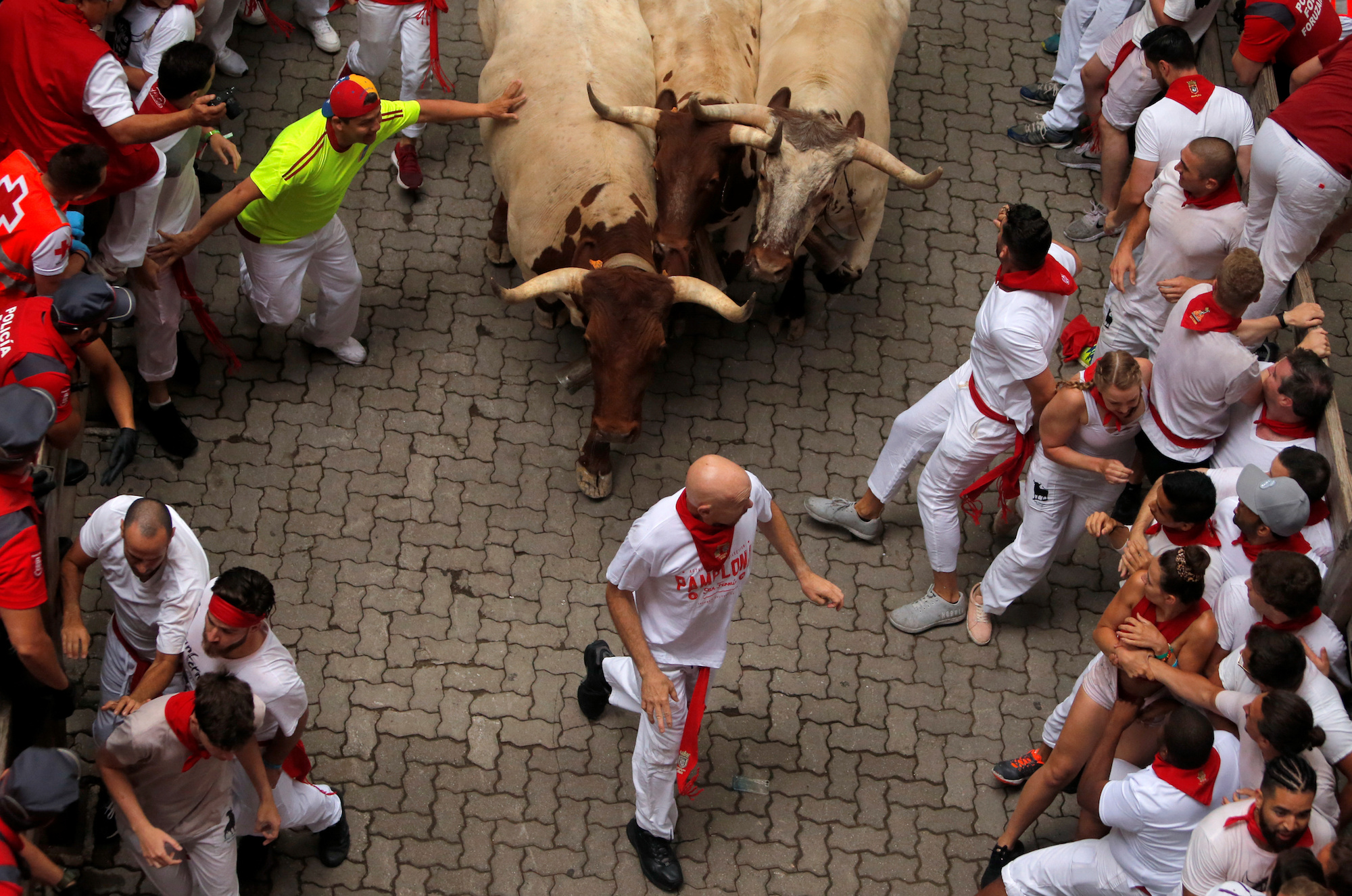 Two Americans Gored During Bull-running Festival in Spain