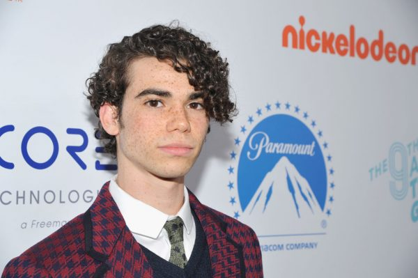 Cameron Boyce at an event