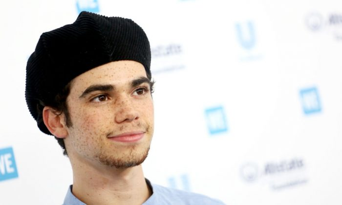 Cameron Boyce attends WE Day California at The Forum in Inglewood, California, on April 25, 2019. (Tommaso Boddi/Getty Images for WE Day)