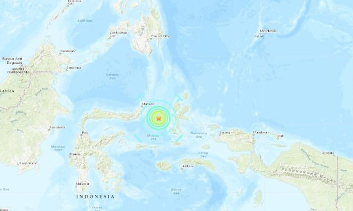 A large earthquake hit Indonesia on July 7, according to reports. (USGS)