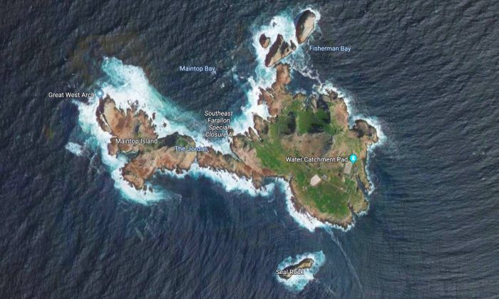 Farallon Island. (Screenshot/Google Maps)