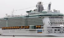 Cruise Ship Worker Appears to Wave Giant Fake Hand at Passengers Who Missed Boat