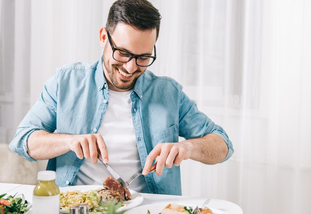 Eating mancock