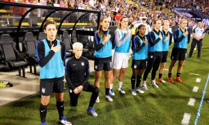 US Soccer Federation Votes to Repeal Policy Requiring Standing for National Anthem
