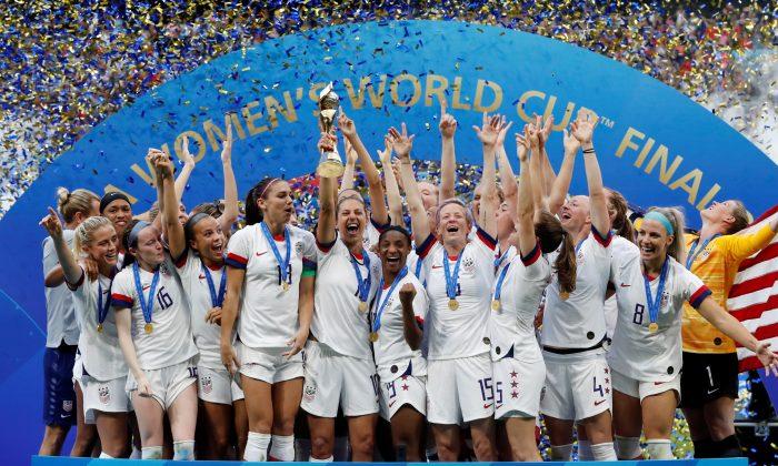 Soccer Football—Women's World Cup Final—United States v Netherlands—Groupama Stadium, Lyon, France on July 7, 2019. (Bernadett Szabo/File Photo/Reuters)