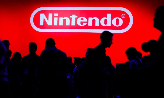A display for the gaming company Nintendo is shown during opening day of E3, the annual video games expo revealing the latest in gaming software and hardware in Los Angeles, California, U.S. on June 11, 2019. (Mike Blake/Reuters)