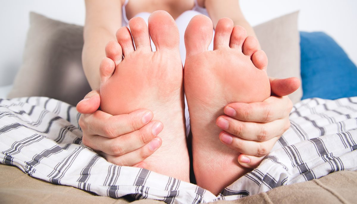 Doctor's secret to instant PAIN relief - now say goodbye to aching feet and heels