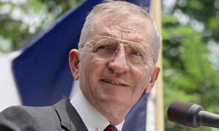 Ross Perot in a file photo. (The Associated Press)