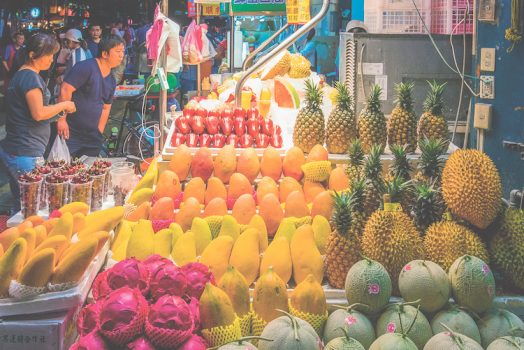 tropical fruits in taiwan
