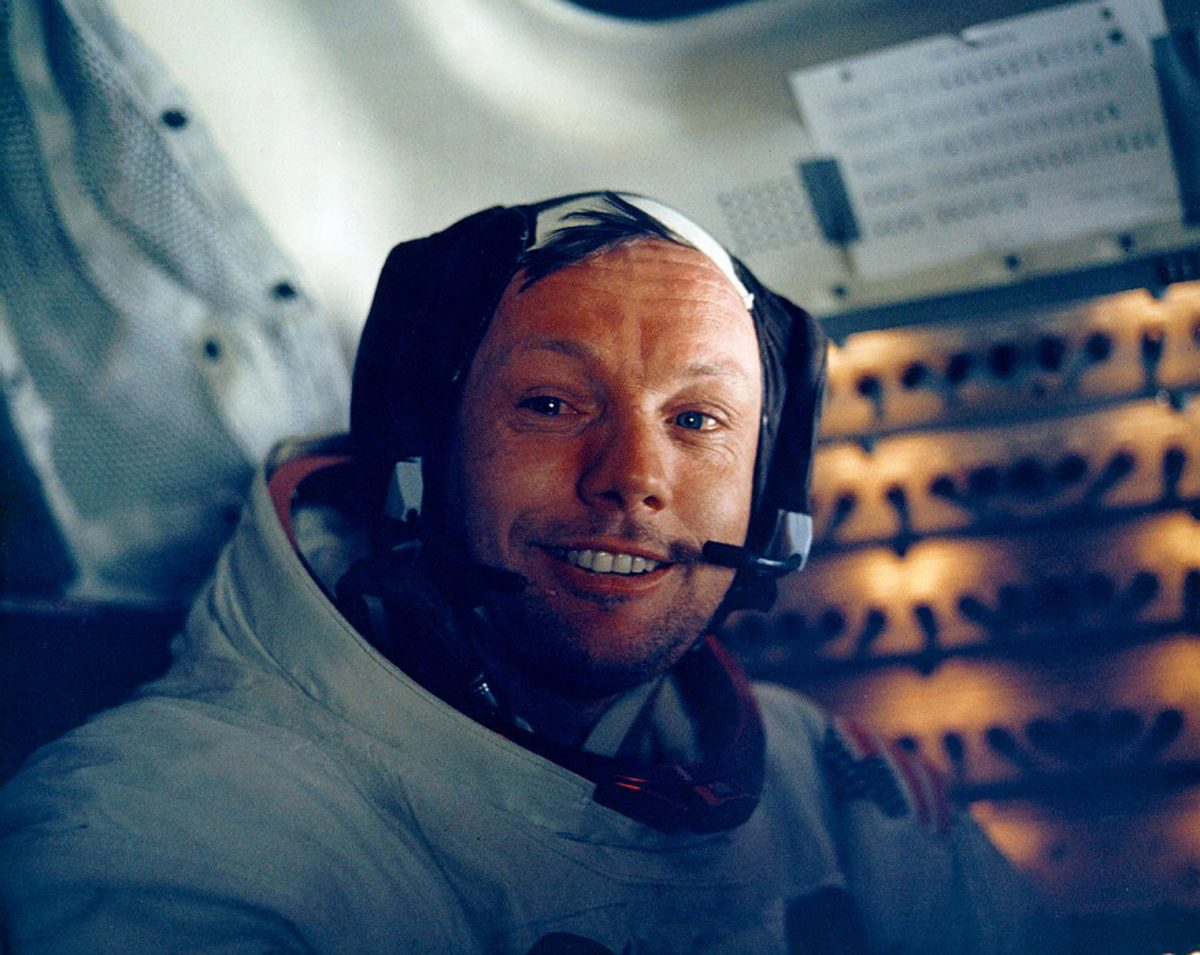Neil Armstrong in Apollo 11 Moon Mission