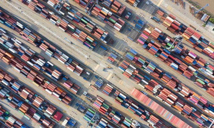 Containers are seen at a port in Ningbo, Zhejiang Province, China on May 28, 2019. (Reuters)