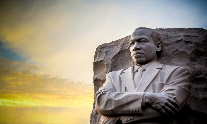 The Martin Luther King Jr. Memorial statue in West Potomac Park in Washington. (Shutterstock)