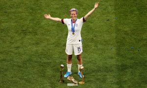 US Women's Soccer Team Captain Megan Rapinoe Felt 'Pride' While Kneeling During Anthem