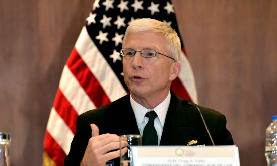 US Navy Admiral Says China Poses Major Threat in Western Hemisphere