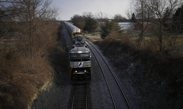 Xudong Yao, a software engineer, was charged with stealing trade secrets from a Chicago locomotive manufacturer and taking it to China, according to a federal indictment unsealed on July 10. (Photo by Luke Sharrett/Getty Images)