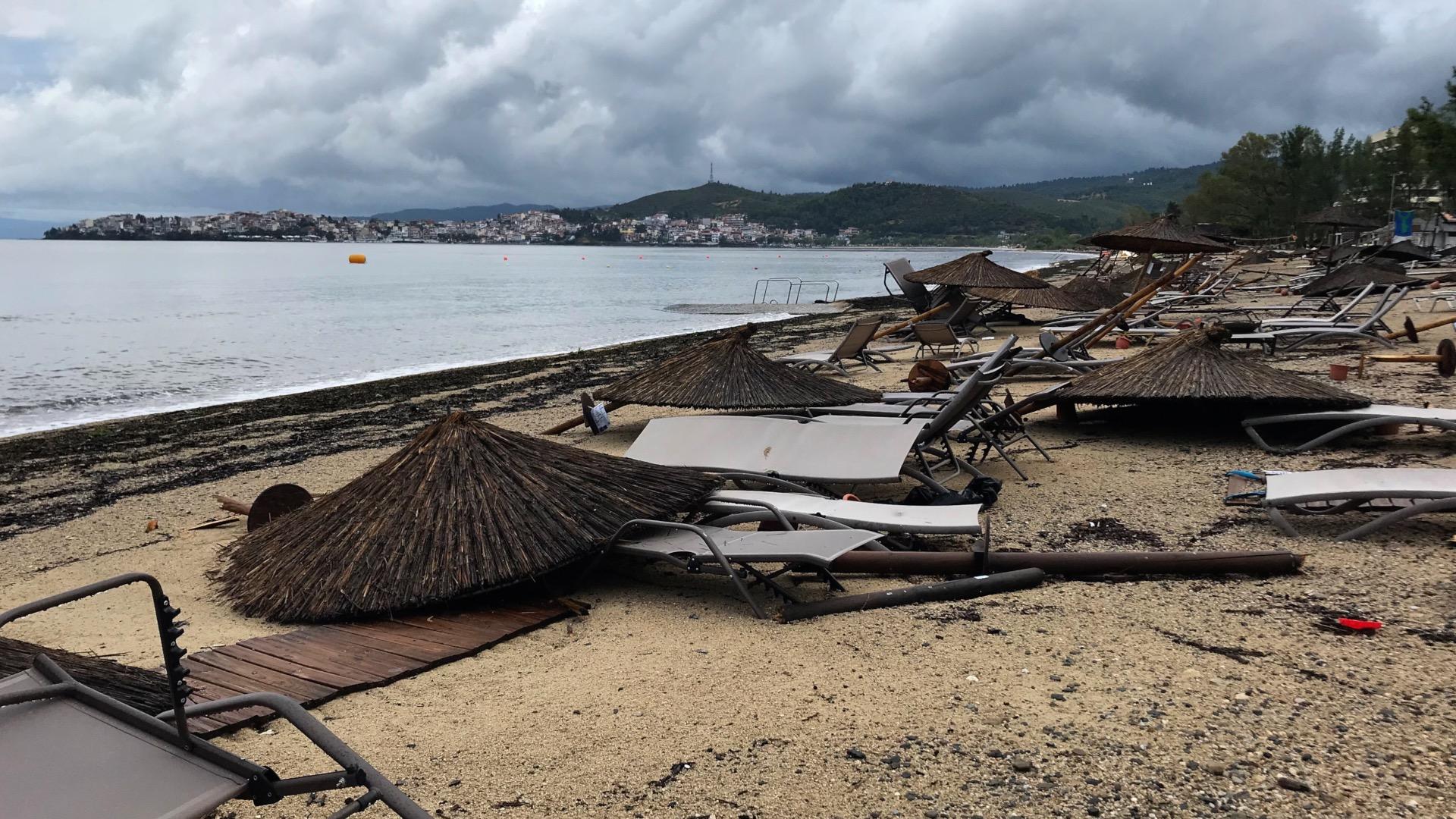 Violent Storm Kills Six Foreigners in Northern Greek Resorts
