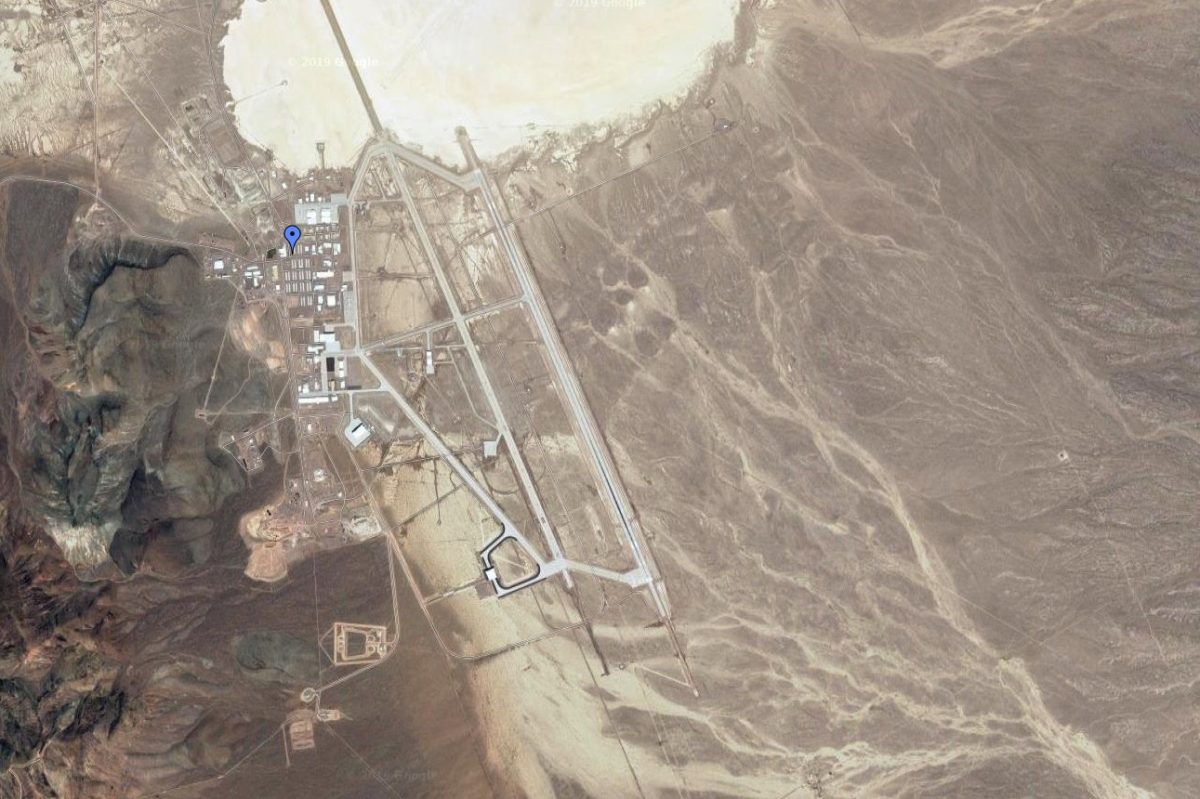 area 51 on map