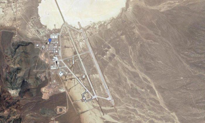 Area 51 on Google Maps. (Google Maps)