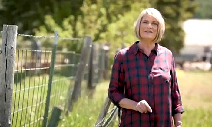 Former Rep. Cynthia Lummis in an image from her campaign announcement video. (Cynthia Lummis for Senate)