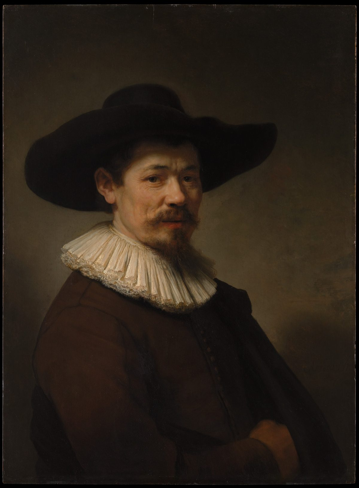 Herman Doomer portrait by Rembrandt