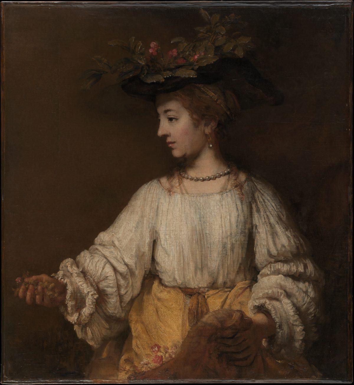 Rembrandt's Flora