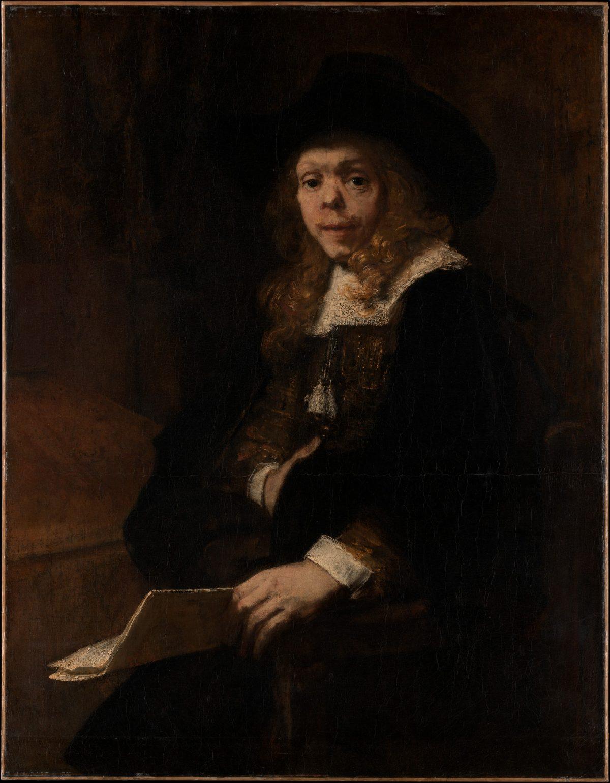 Rembrandt's Gerard de Lairesse