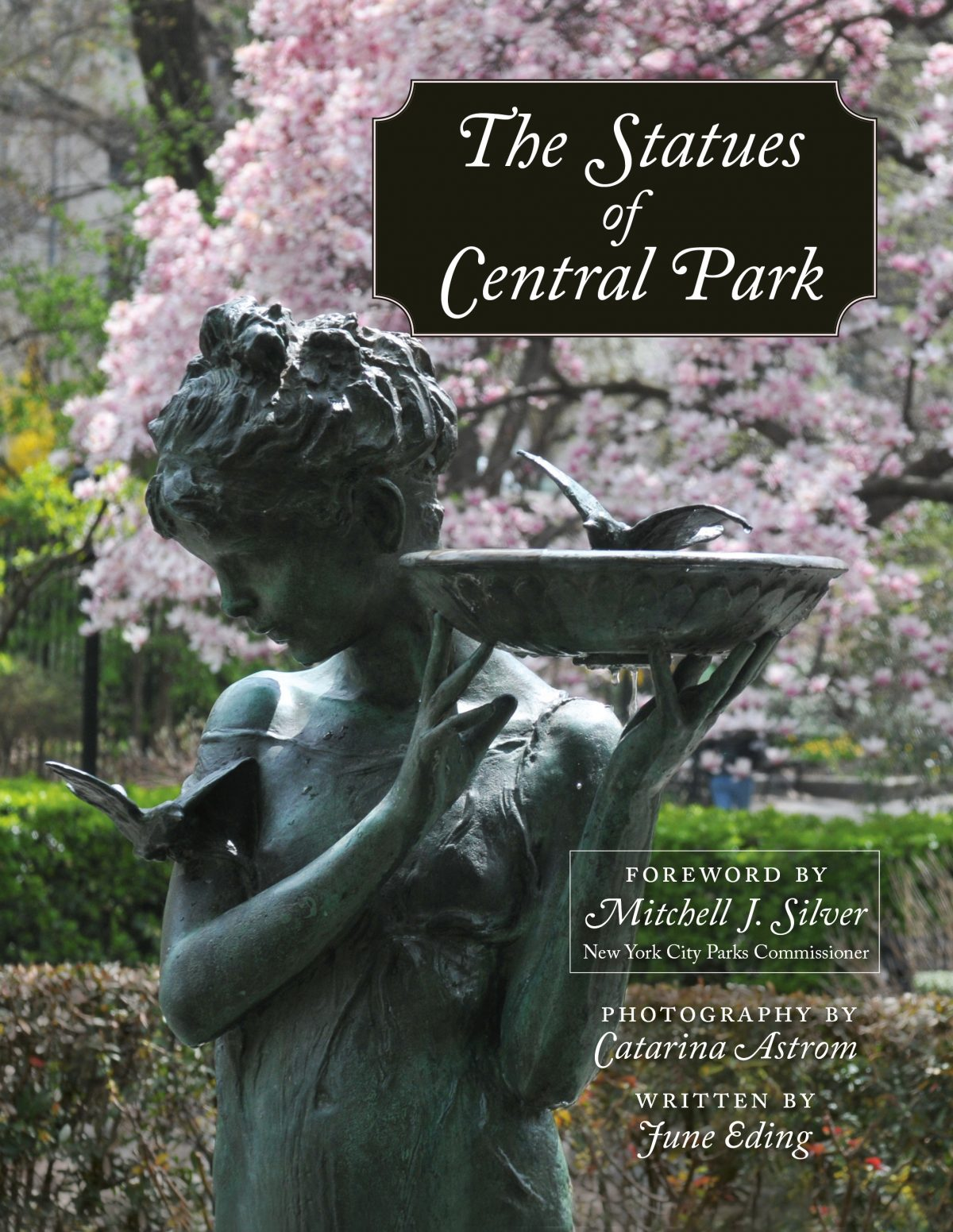 statues of central park, the cover